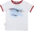 SOSOOKI Flight Adventures Vintage Short Sleeve Tee - Front View