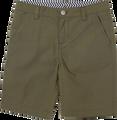 SOSOOKI Olive Hampton Shorts - Front View