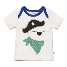 Bebe Iggy Envelope Neck Pirate Tee