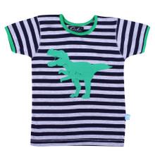 Oobi Nicky Grey Dinosaur Tee