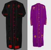 Men's Clergy Robe Cassock - Stole Only