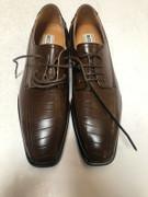 *ULTIMATE* Men's Chocolate Brown Smooth Dress Shoes FREE SHIPPING - SZ 10