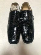 *ULTIMATE* Men's Black Shiny Dress Shoes Cap Toe FREE SHIPPING  - SZ 11