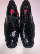 *ULTIMATE* Men's Black Solid Pointed Dress Shoes Tuxedo Formal FREE SHIPPING - SZ 8.5