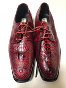 *ULTIMATE* Men's Wine Quality Fancy Gator Exotic Imported Dress Shoes FREE SHIPPING - SZ 10