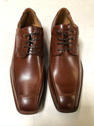 *ULTIMATE* Men's Cognac Tan Smooth Pointed Toe Dress Shoes FREE SHIPPING - SZ 10.5