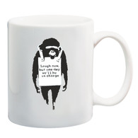 Laugh Now Monkey Mug
