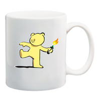 Teddy Bear Bomber Mug