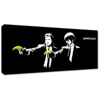 Banksy Canvas Print - Pulp Fiction