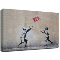 Banksy Canvas Print - No Ball Games