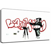 Banksy Canvas Print - French Painter
