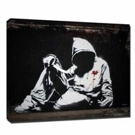 Banksy Canvas Print - Hoodie