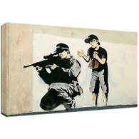 Banksy Canvas Print - Sniper