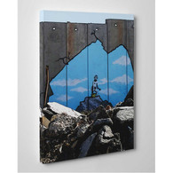Banksy Canvas Print - Beach Boys