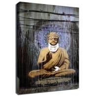 Banksy Canvas Print - Buddha