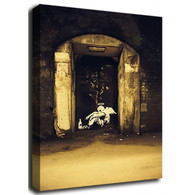 Banksy Canvas Print - Fallen Angel