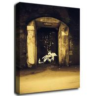 Banksy Canvas Print - Fallen Angel