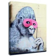 Banksy Canvas Print - Gorilla