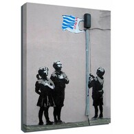 Banksy Canvas Print - Tesco Kids