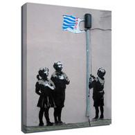 Banksy Canvas Print - Tesco Kids