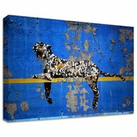Banksy Canvas Print - Bronx Zoo