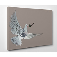 Banksy Canvas Print - Dove of Peace