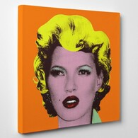 Banksy Canvas Print - Kate Moss Canvas