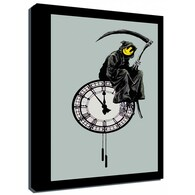 Banksy Canvas Print - Grim Reaper No 1
