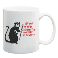 Out of Bed Rat Mug