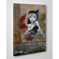 Banksy Canvas Print - French Revolution