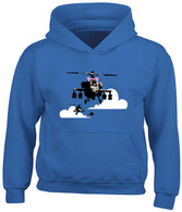 Apache Helicopter Hoodie