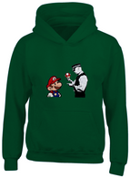 Mario and Policeman Hoodie