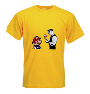 Mario and Police man T Shirt