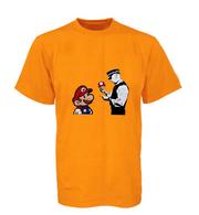 Mario and Police man T Shirt