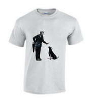 Man and dog T Shirt