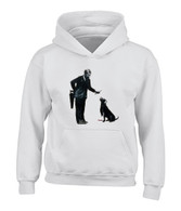 Man and Dog Hoodie