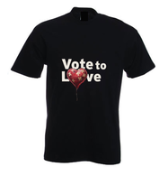Vote to Love T Shirt