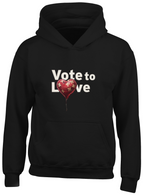 Vote to Love Hoodie
