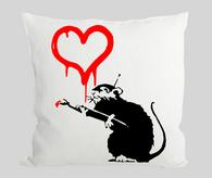 Love Rat Cushion