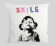 Smile Girl Cushion
