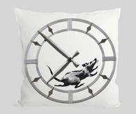 Rat against time Cushion