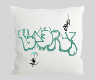 Pandemic Rats Cushion