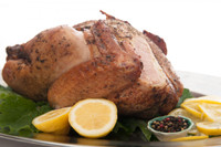 Whole Lemon Peppered Smoked Turkey