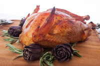 Whole Hickory Smoked & Peppered Turkey