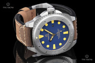 Giorgio Milano Explorer Blue Dial Mechanical Automatic Leather Strap Watch w/ Extra Strap - 952ST043
