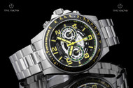 Invicta Men's 47mm Speedway Quartz Multifunction Stainless Steel Bracelet Watch - 19282