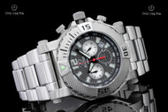 Reactor 45.5mm Neutron Anthracite Dial Stainless Steel Chronograph Bracelet Watch - 93010