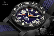 Reactor 42mm Gryphon Navy Dial Strap Watch with Never Dark Technology - 73803