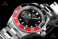 Invicta 40mm Pro Diver Open Heart Automatic Stainless Steel Bracelet Watch - 20435