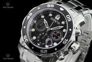 Invicta Men's 48mm Pro Diver Scuba Black Dial Quartz Chronograph Bracelet Watch - 21920